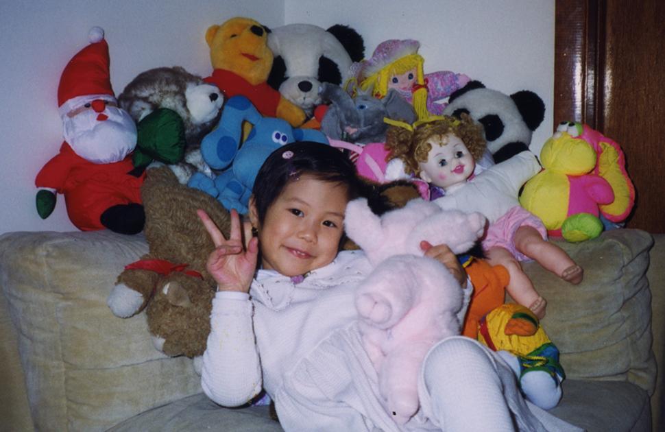 Bianca Ng Baby Pic