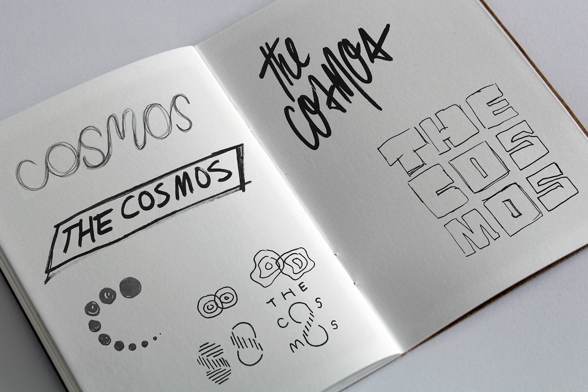 thecosmos new york graphic design illustration lettering artist