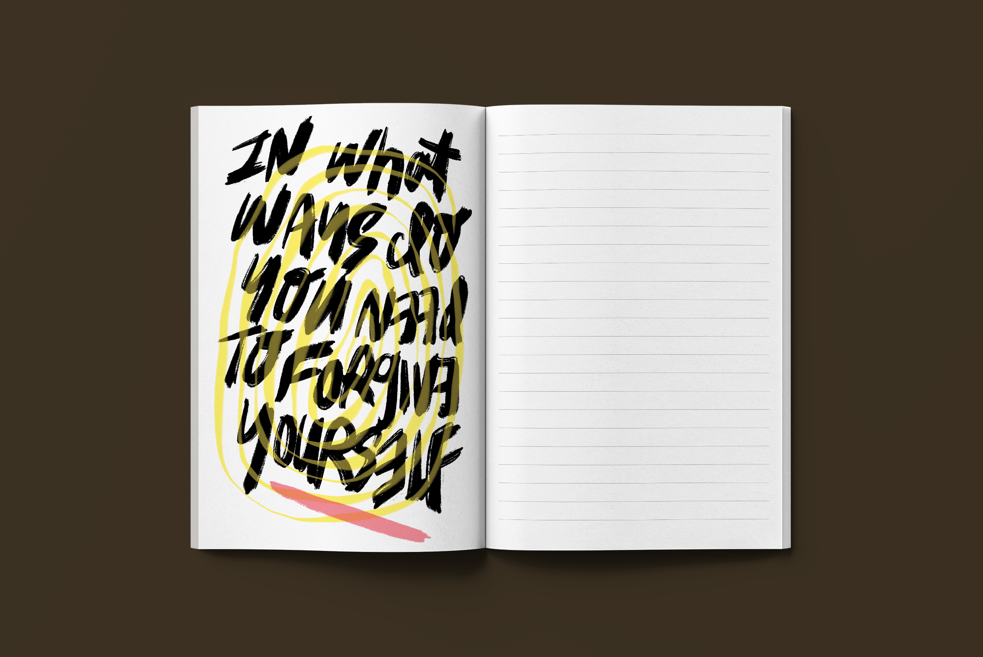 theseventhwave book graphic design illustration lettering artist